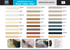 New Grout Colour Chart1
